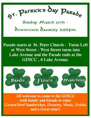 2018 Danbury St. Patrick's Day Parade